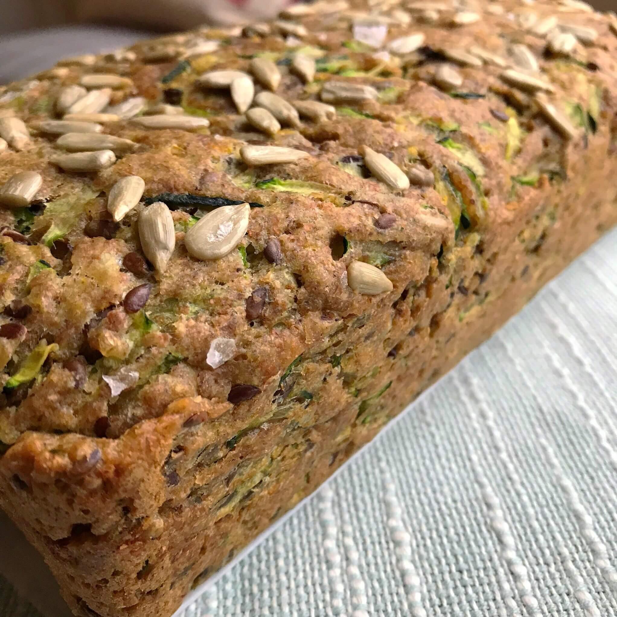 Zucchini Bread Close Up