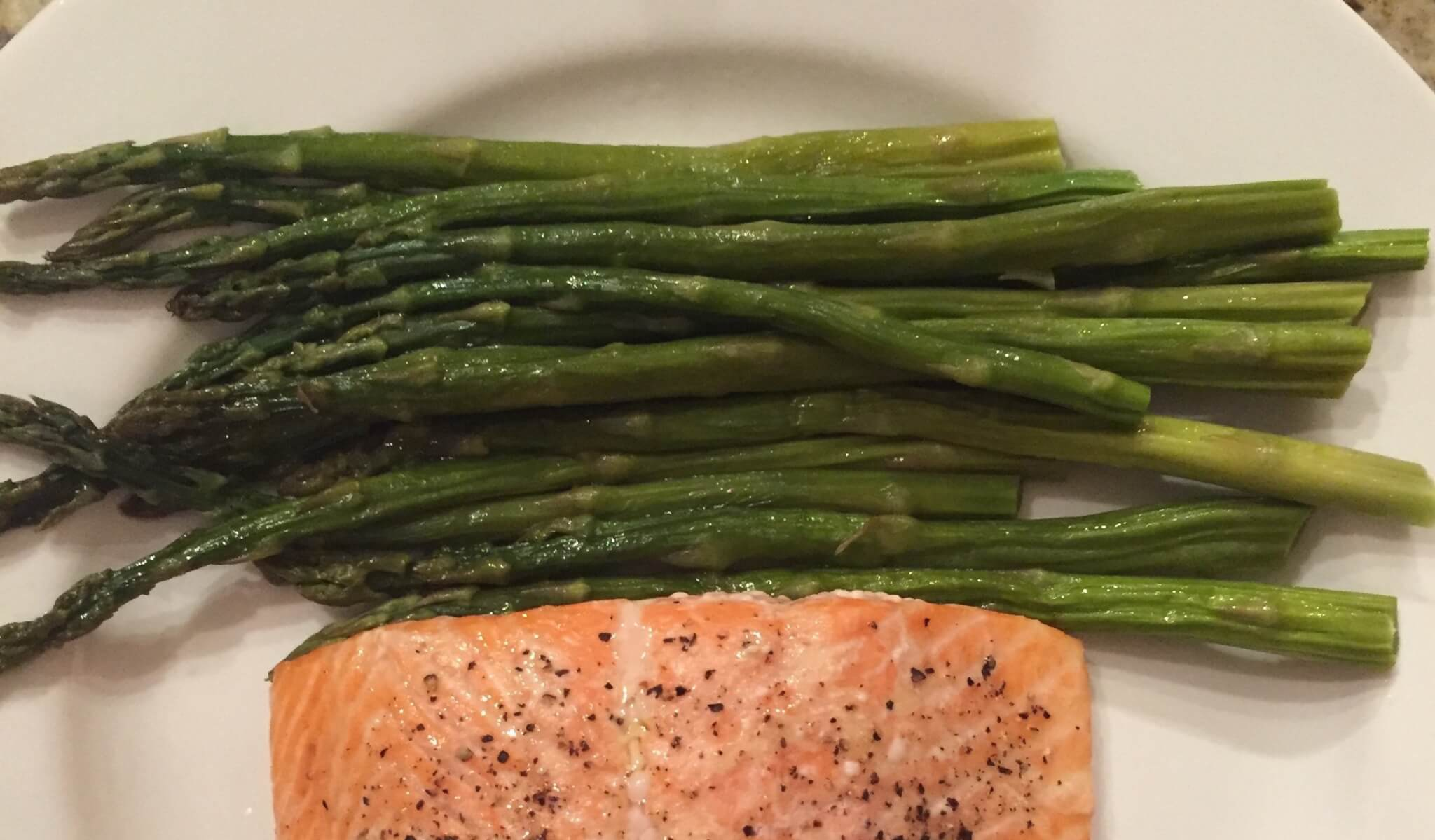 $3 and 40 Minute Baked Asparagus