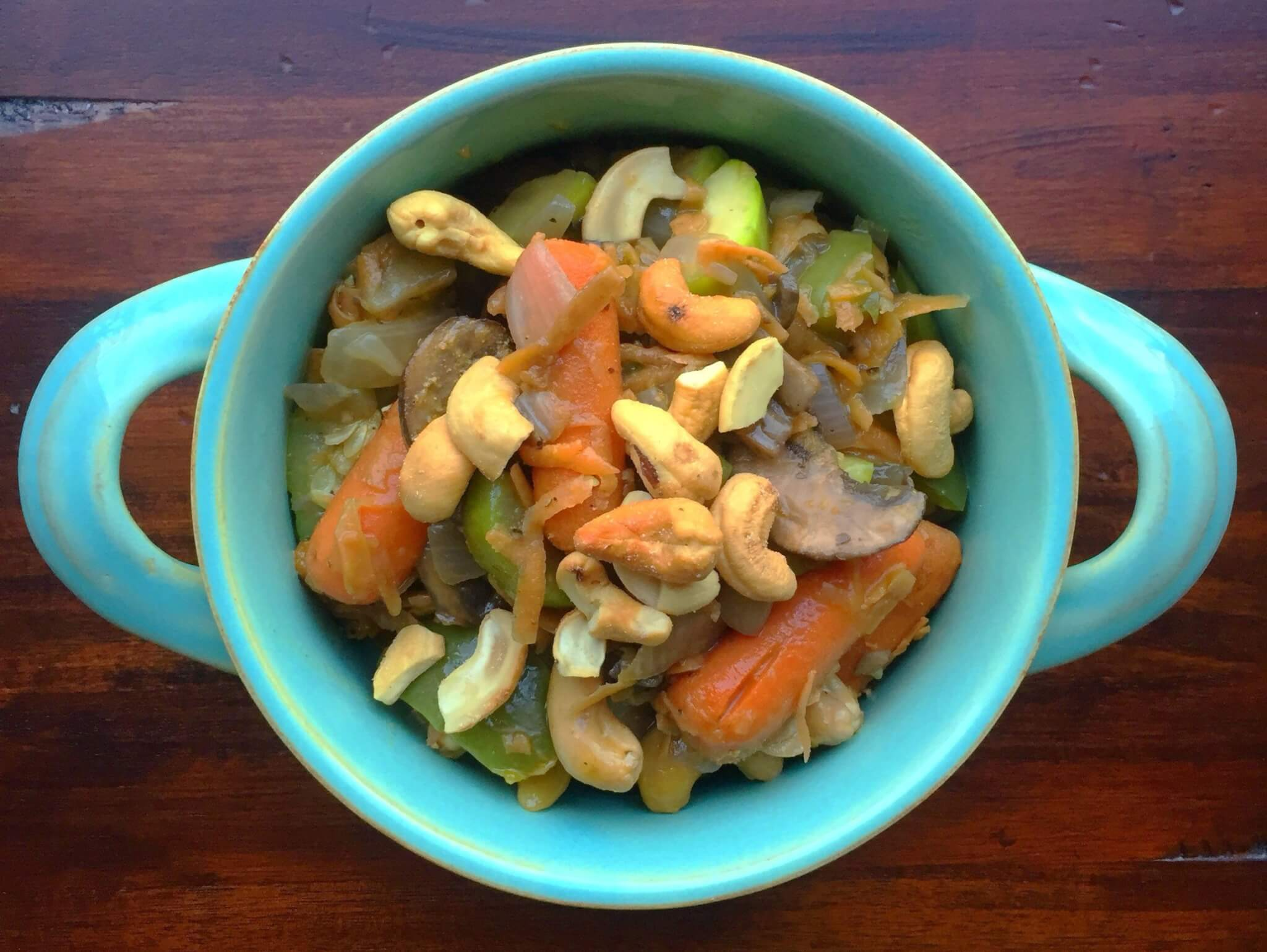 Ginger Vegetable Stir Fry Template