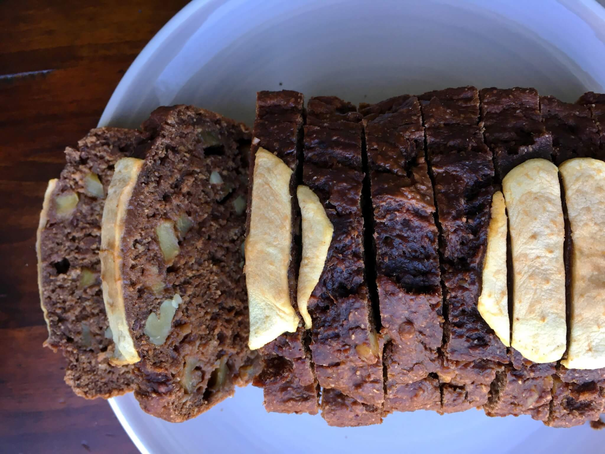 $0.50 and 70 Minute Whole Wheat Apple Banana Bread