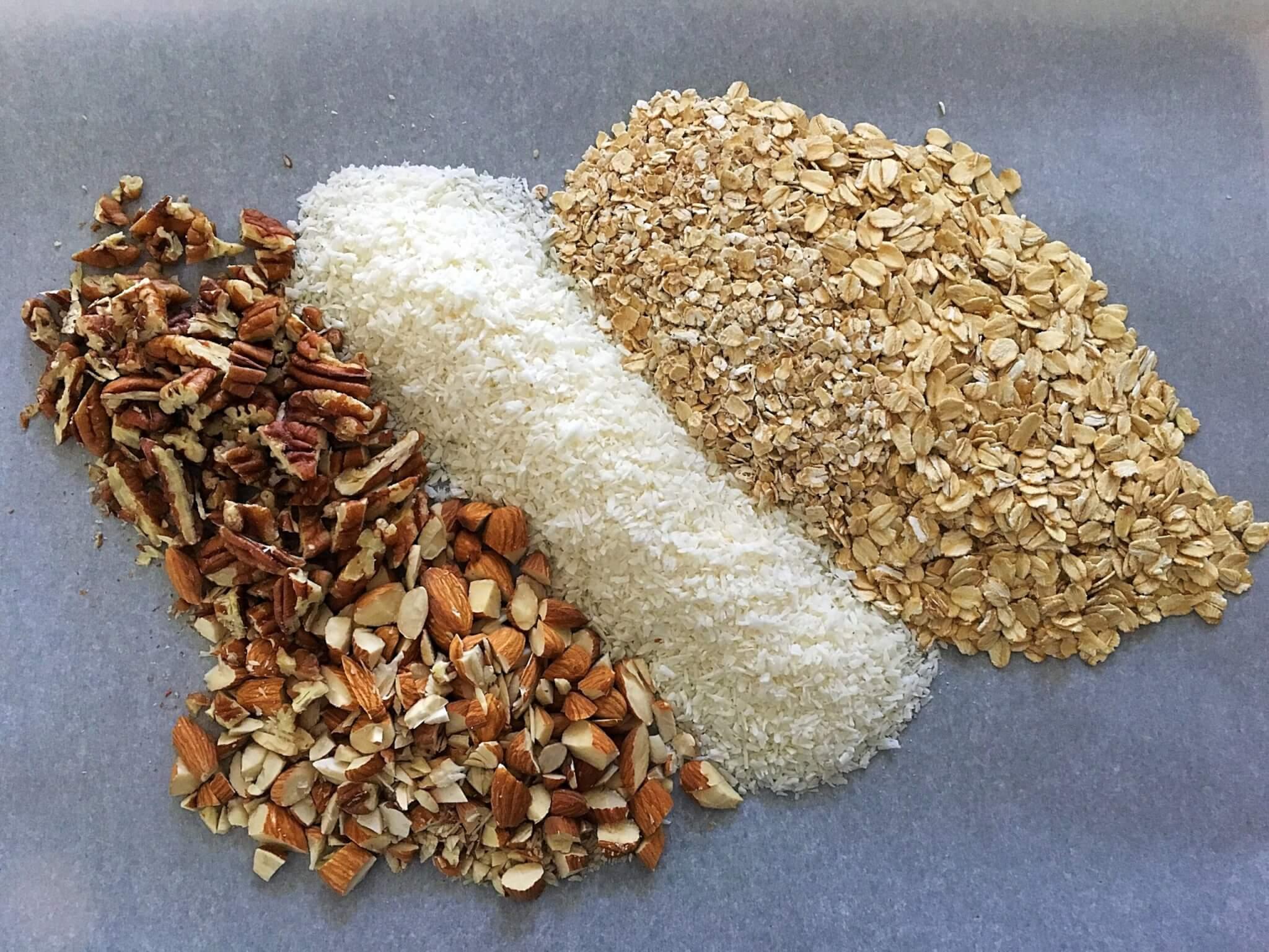 Refined Sugar Free Granola base