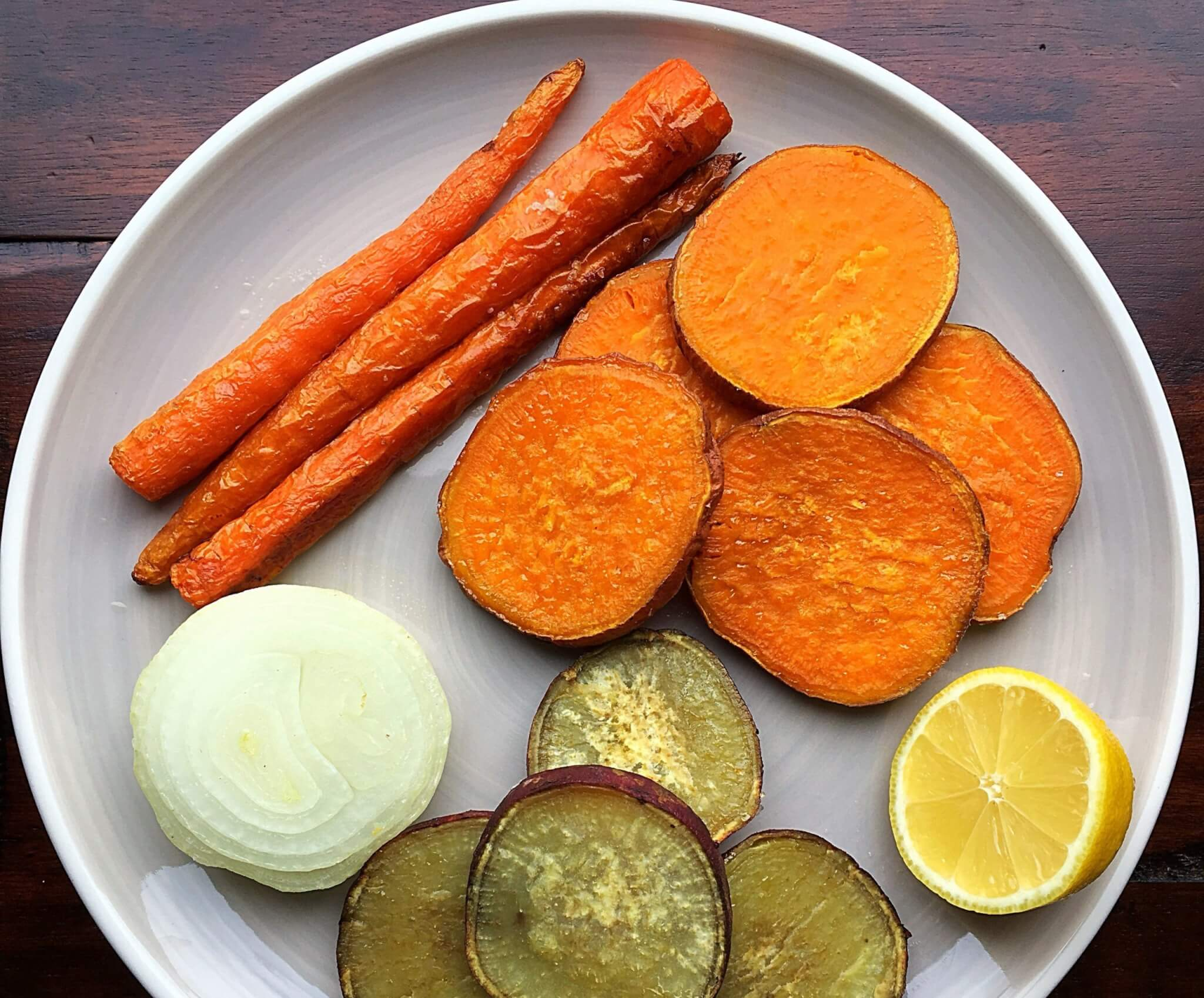 $1 and 30 Minutes Roasted Root Vegetables