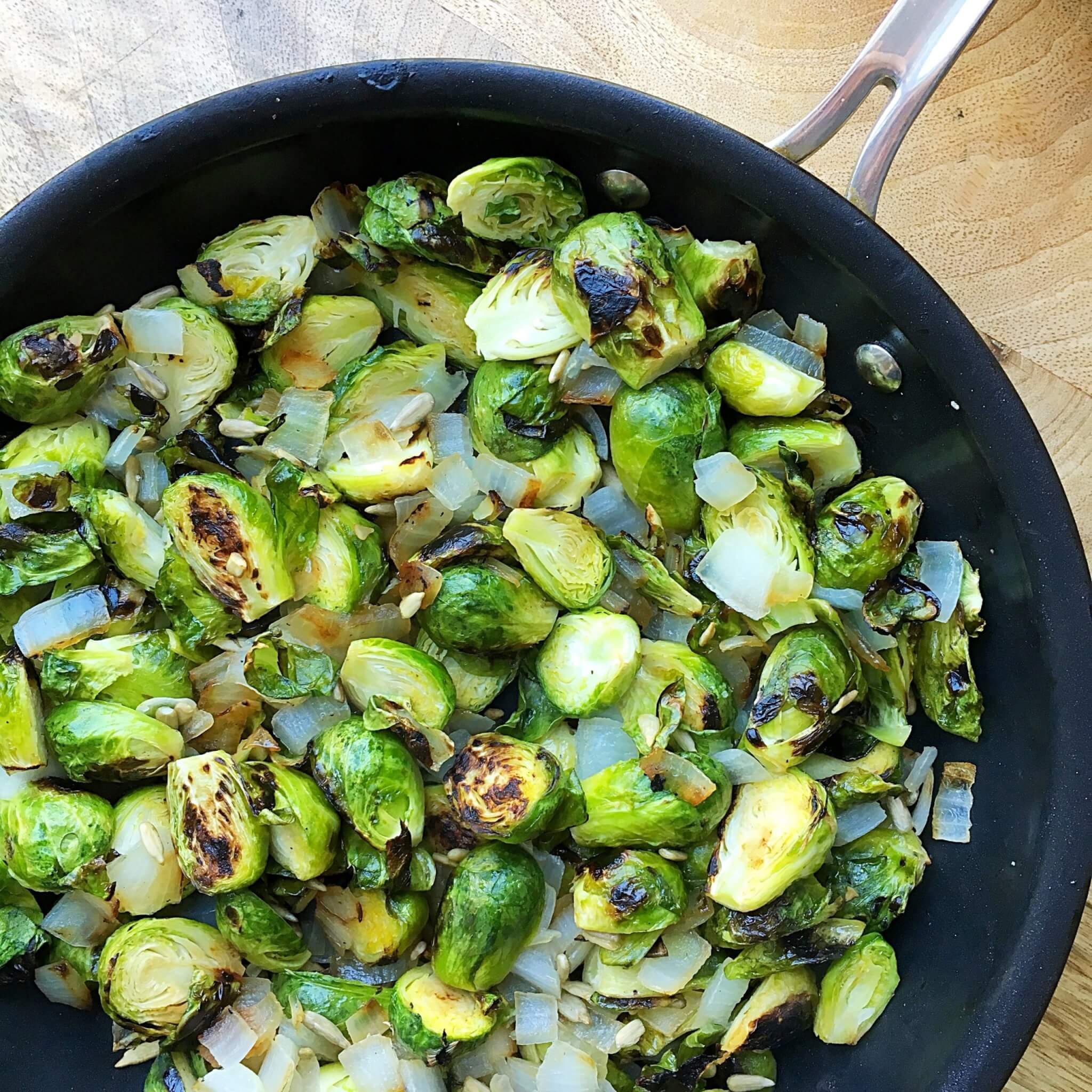 $1.50 and 20 Minute Crispy Brussels Sprouts