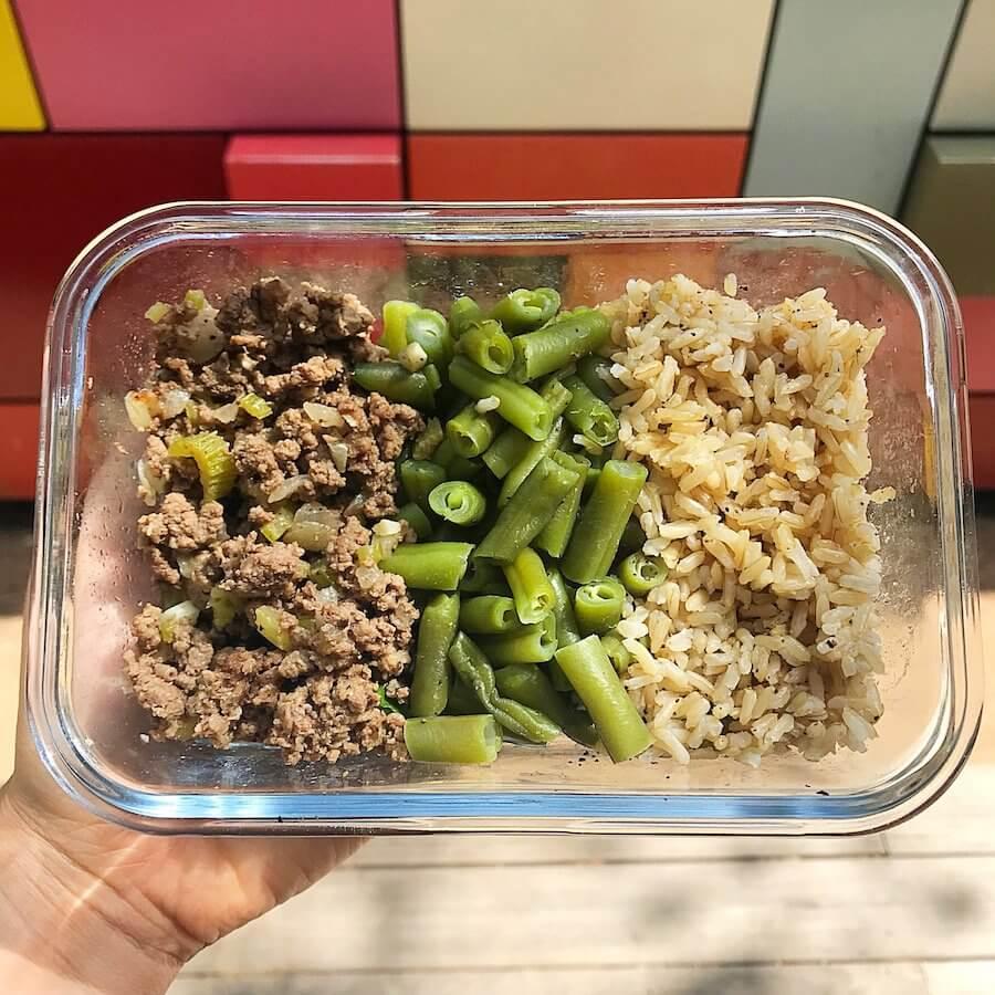 work week meal prep