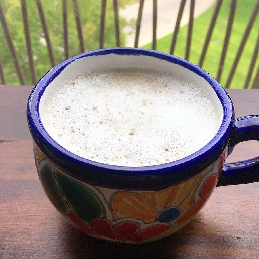 Latte with Foamed Milk