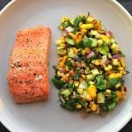 Baked salmon or trout recipe