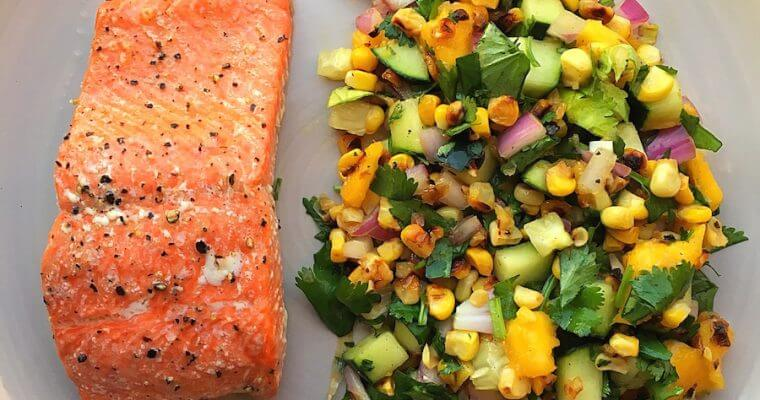 $4 and 15 Minute Baked Salmon or Trout!
